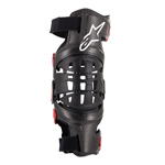 Alpinestars MX Motocross Bionic-10 Carbon Knee Brace - Left (Black/Red)