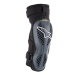 Alpinestars MX Motocross Sequence Knee Protectors (Anthracite/Yellow Fluo)
