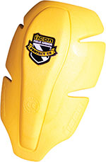 ICON Replacement Field Armor Shoulder Impact Protector (Yellow)