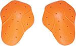 ICON D3O Motorcycle Shoulder Armor (Orange) CE Level 1 D30
