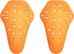 ICON D3O Motorcycle Knee Armor (Orange) CE Level 1 D30