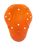 ICON D3O EVO X Shoulder Protector Inserts (Orange) Left & Right CE Level 2 D30