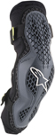 Alpinestars MX Motocross Sequence Elbow Protectors (Anthracite/Yellow Fluo)