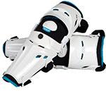 FLY Racing MX Motocross - Five-Pivot Knee/Shin Guards (White)