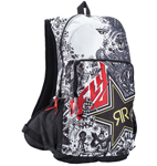 Fly Racing MX Motocross MTB BMX ROCKSTAR Jump Backpack (Black/White)