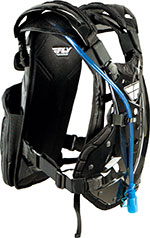 FLY Racing MX Motocross MTB BMX STINGRAY Ready-To-Ride Roost Guard/Hydration Pack (Black)