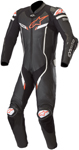 Alpinestars GP PRO v2 Leather Race Suit Tech-Air Compatible (Black/White)