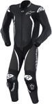 ALPINESTARS GP TECH One-Piece Leather Road/Track Suit (Black/White)