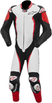 ALPINESTARS GP TECH One-Piece Leather Road/Track Suit (White/Black/Red)
