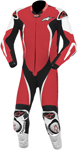 ALPINESTARS GP TECH One-Piece Leather Road/Track Suit (Red/White/Black)