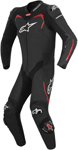 Alpinestars 2016 GP PRO 1-Piece Leather Riding Suit for Tech-Air Race (White/Black/Red)