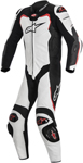 Alpinestars 2016 GP PRO 1-Piece Leather Riding Suit for Tech-Air Race (Black/White/Red)