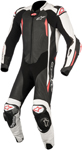 Alpinestars GP TECH v2 Leather Motorcycle Riding Suit Tech-Air Compatible (Black/White/Red)