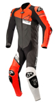 Alpinestars GP PLUS Venom 1-Piece Leather Riding Suit (Black/Red/White)