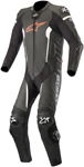 Alpinestars MISSILE Leather Riding Suit Tech-Air Compatible (Black/Red Fluo/White)