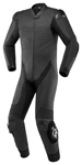 Icon Motosports HYPERSPORT 1-Piece Leather Riding Suit (Black)