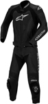 ALPINESTARS GP PRO Two-Piece Leather Motorcycle Track/Race Suit (Black)