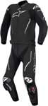 Alpinestars Atem 2PC Leather Road/Track Motorcycle Suit (Black)
