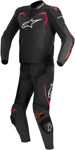 Alpinestars 2016 GP PRO 2-Piece Leather Road/Track Riding Suit (Black/Red)