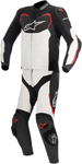 Alpinestars 2016 GP PRO 2-Piece Leather Road/Track Riding Suit (Black/White/Red)