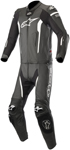 Alpinestars MISSILE 2pc Leather Riding Suit Tech-Air Compatible (Black/White)