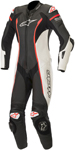 Alpinestars Women's Stella Missile 1PC Race Suit Tech-Air Compatible (Black/White/Red)