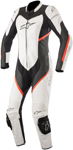 Alpinestars Women's Stella KIRA Leather Riding Suit (Black/White/Red Fluo)