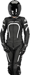 ALPINESTARS Stella MOTEGI Two-Piece Leather Motorcycle Suit (Black/White)