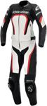 ALPINESTARS Stella MOTEGI Two-Piece Leather Motorcycle Suit (Black/White/Red)