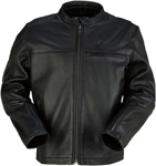Z1R Munition Leather Riding Jacket (Black)