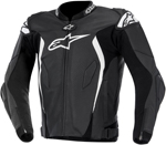 Alpinestars GP TECH Perforated Leather Motorcycle Jacket (Black/White)