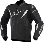 Alpinestars GP-R Leather Motorcycle Jacket (Black/White)