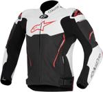 Alpinestars Atem Leather Road/Track Motorcycle Jacket (Black/White/Red)