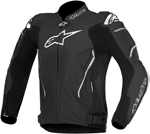 Alpinestars Atem Leather Road/Track Motorcycle Jacket (Black)