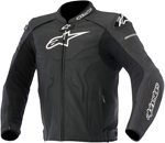 Alpinestars 2016 CELER Leather Riding Jacket w/ Speed Hump (Black)