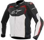 Alpinestars 2016 GP PRO AIRFLOW Leather Road/Track Riding Jacket (Black/White/Red)