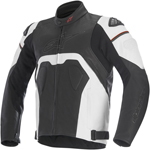Alpinestars 2016 CORE Leather Road/Track Riding Jacket (Black/White)