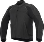 Alpinestars 2016 DEVON AIRFLOW Leather Road/Track Riding Jacket (Black)