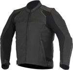Alpinestars 2016 DEVON Leather Road/Track Riding Jacket (Black)