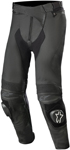 Alpinestars MISSILE v2 Airflow Leather Riding Pants (Long Sizes) (Black)