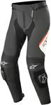 Alpinestars MISSILE v2 Leather Riding Pants (Black/White/Fluo Red)