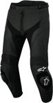Alpinestars MISSILE AIRFLOW Leather Road/Track Motorcycle Pants (Black)
