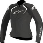 Alpinestars Stella JAWS Leather Jacket (Black)