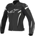 Alpinestars Stella GP PLUS R V2 Leather Jacket (Black/White)