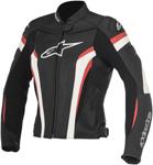 Alpinestars Stella GP PLUS R V2 Leather Jacket (Black/White/Red)