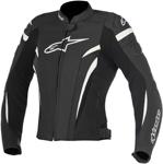 Alpinestars Stella GP PLUS R V2 Airflow Perforated Leather Jacket (Black/White)