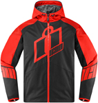 Icon MERC Crusader Textile Jacket CE Certified (Red)