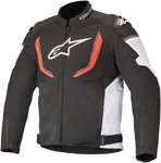 Alpinestars T-GP R v2 AIR Textile Riding Jacket (Black/White/Fluo Red)