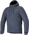 Alpinestars Domino Tech Shell Hoody Riding Jacket (Navy Blue)