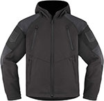 ICON 1000 BASEHAWK Motorcycle Jacket (Stealth/Black)